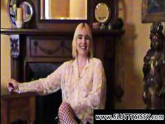 Blonde crossdresser Al... from DrTuber