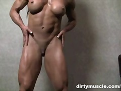 Muscular Brunette Play... from PornHub