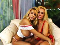 Nuvid - Two horny blonde lesbi...