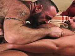 Quick Bear Jerk Off from Alpha Porno