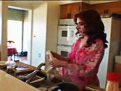 horny fuck in the kitchen