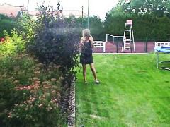 Couple has outdoor and...