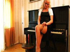 Horny piano teacher ba... from Redtube