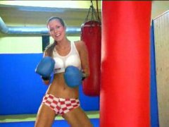 Sexy boxer babe from Redtube