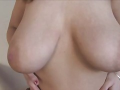 Busty mom masturbating