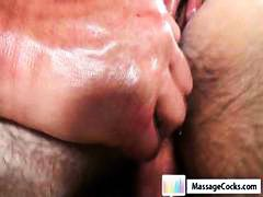 Nuvid - Gay dude gets an oiled...