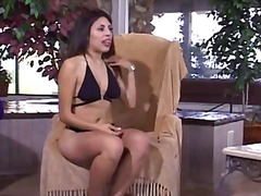 Horny Latina milks you...