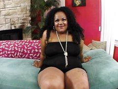 Chubby ebony in need o...