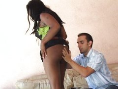 Redtube - BBW nailed on a leathe...