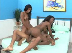 Alpha Porno - Both girls can ride bl...