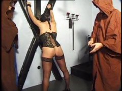 Monks Molest Masked Maiden
