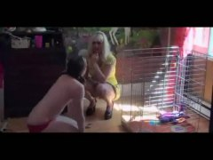 Caged Spanked Waxed An...