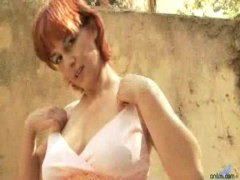 Mature redhead lives f... from Redtube