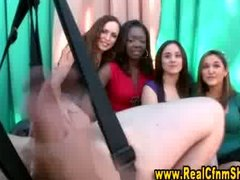 Cfnm girls erotic play... from Tube8