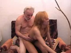 Old man fuck girl full...