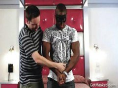Black hunk gets his ma...