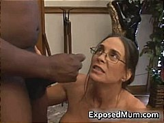 Hot Milf in glasses de... from DrTuber