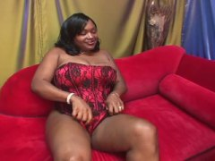 Bbw afro with a hariy ...
