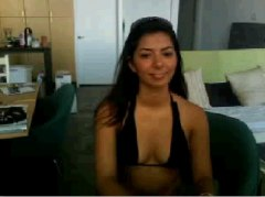 Shy chatroulette girl ...