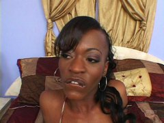 Hot black body and mouth ...