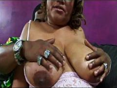 Black BBW and his big ...
