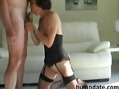 Hot mature wife gives ...
