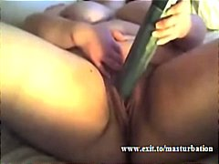 A huge cucumber to sti... from Tube8