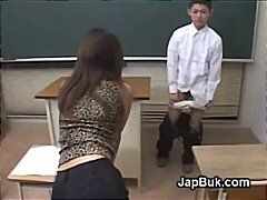 Japanese schoolboy ass...