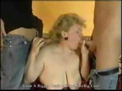 Nuvid - Granny with 2 boys