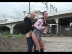 Extreme public-sex by ...
