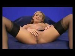 Gorgeous blonde babe m... from HardSexTube