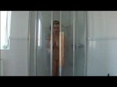 Milf Lady Sonia shower...