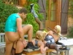 Exciting threesome out... from Alpha Porno