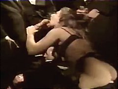 French retro Gangbang ...
