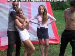 Sexy college babes in ... from Keez Movies
