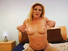 Solo blonde mature in ...