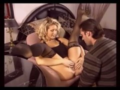 Erotic blonde milf in ...
