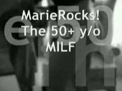 MarieRocks 50 Plus MIL... from Tube8