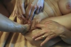 Alpha Porno - Slowly fisting her old...