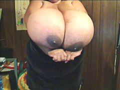 Ebony BBW with Enormou...