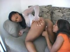 Black chicks show lust... from Alpha Porno