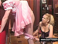Crossdresser gets his ... from Nuvid