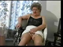Teasing Old Granny In ...