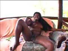 Big black girl masturb... from Alpha Porno