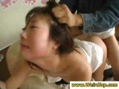 Extreme sex with asian ma...