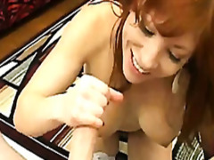 Fiery redhead mom with... from H2porn