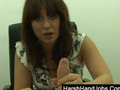 Keez Movies - Brunette boss takes it...