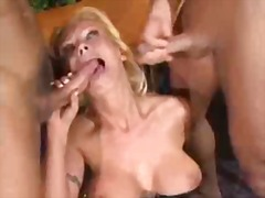 German Anal Threesome