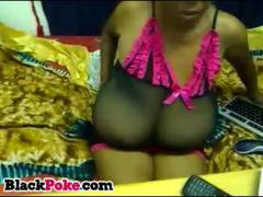 HardSexTube - Black babe with massiv...