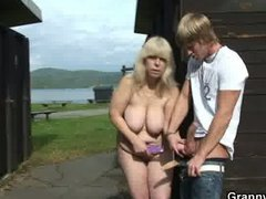 Granny gets nailed in ...